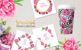 Ilustracja Legendary Pink Peonies Watercolor png #76840