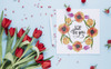 Super Tulip Red Flowers Watercolor Png Illustration Big Screenshot