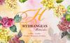 Hydrangeas Yellow-Pink Watercolor png Illustration Big Screenshot