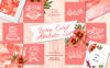 Living Coral Attributes Set Watercolor Png Illustration Big Screenshot