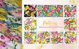 Floral Design Collection Watercolor Png Illustration
