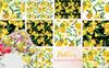 Floral Design Collection Watercolor Png Illustration Big Screenshot