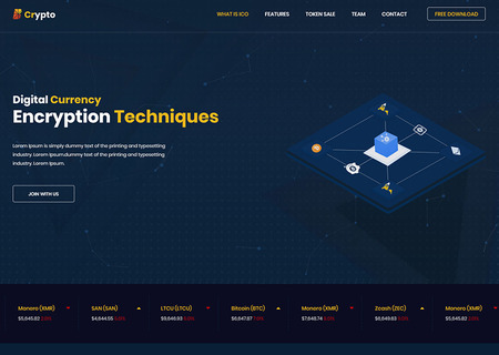 BCrypto - ICO, Bitcoin and Cryptocurrency
