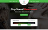 iChaaangeee Petition - Landing Page Template Big Screenshot