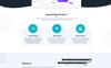 Alltuch - Software Landing Page PSD Template Big Screenshot