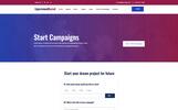 Plantilla Web para Sitio de Caridad