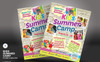 Kids Summer Camp Flyer Corporate Identity Template Big Screenshot