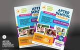 After School Program Flyer Corporate Identity Template