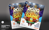 Basketball Event Flyer Corporate Identity Template