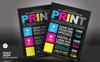 Print Shop Flyer Corporate Identity Template Big Screenshot