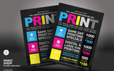 Print Shop Flyer Corporate Identity Template