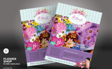 Flower Shop Flyer Corporate Identity Template