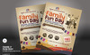 Family Fun Day Flyer Corporate Identity Template Big Screenshot