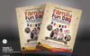 """Family Fun Day Flyer"" Bedrijfsidentiteit template Groot  Screenshot"