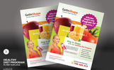 Healthy Diet Program Flyers Corporate Identity Template