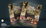 Family Fun Day Flyer Vol.03 Corporate Identity Template