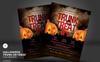 Halloween Trunk or Treat Flyer Corporate Identity Template Big Screenshot