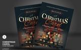 Christmas Carol Flyers Corporate Identity Template