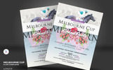 Melbourne Cup Flyer Corporate Identity Template