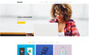 Motafo Minimal Portfolio Website Template Big Screenshot