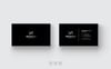 Black & White Minimal Business Card Corporate Identity Template Big Screenshot