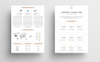 Andrea Caroline Infographic - Resume Template Big Screenshot
