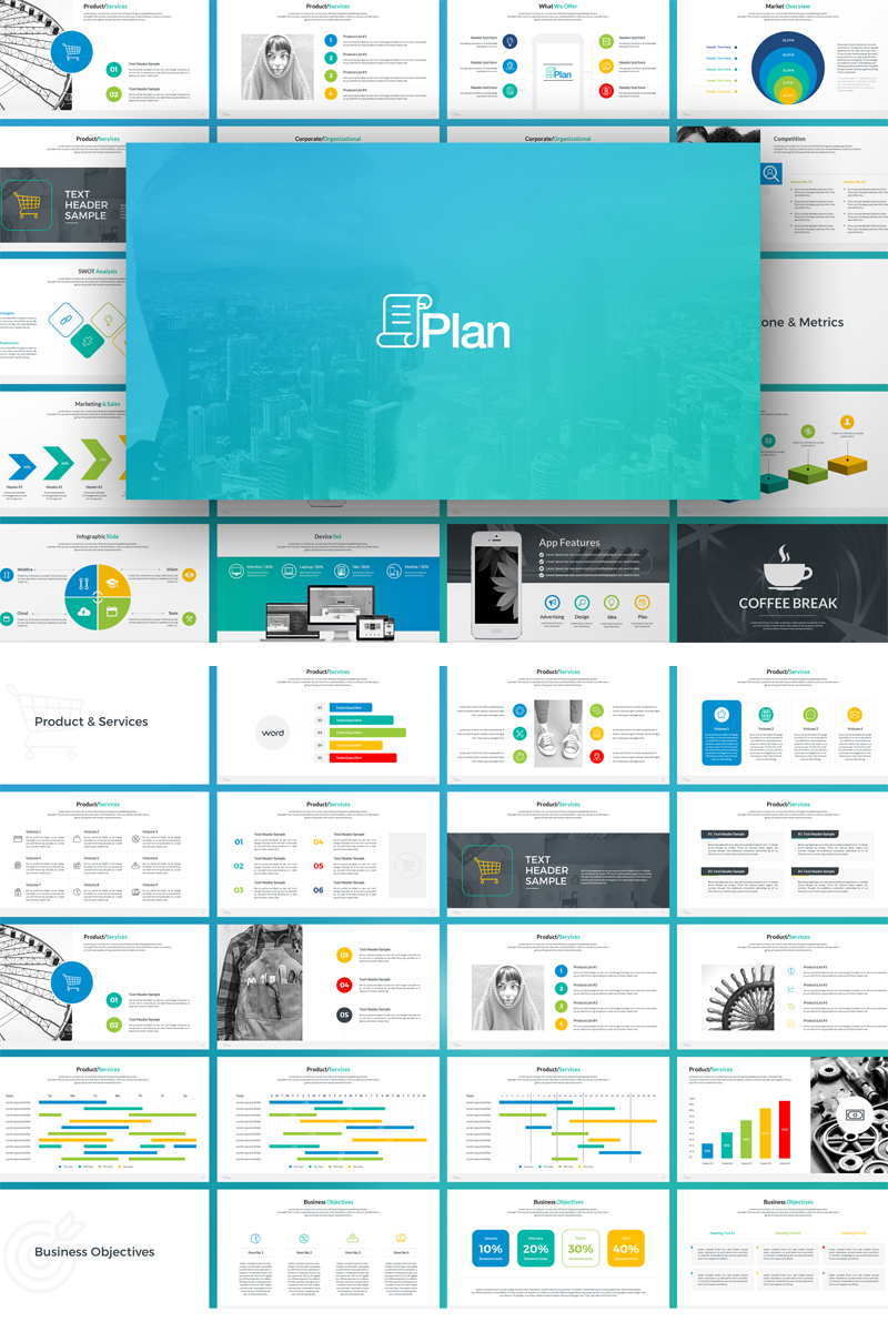 Plantilla Keynote #69585 para Sitio de Diseño