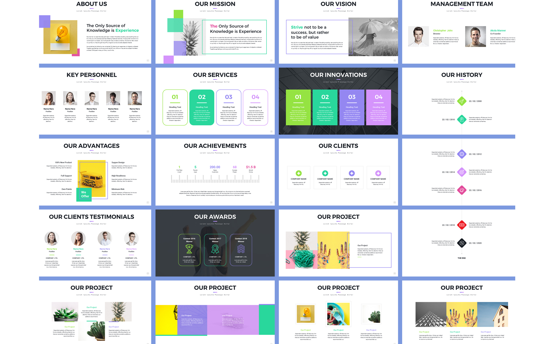 Pro Project Proposal Powerpoint Template 70560