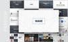 """PowerPoint Vorlage namens """"Wake- Modern & Stylist Presentation"""" Großer Screenshot"""