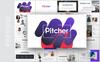 """PowerPoint šablona """"Pitcher-Multipurpose Pitch Deck"""" Velký screenshot"""