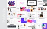 """PowerPoint šablona """"Pitcher-Multipurpose Pitch Deck"""""""