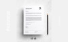 David Ms. Hussy - Professional Resume Template Big Screenshot