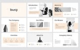 "PowerPoint шаблон ""Busy Modern Clean Business"""
