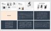 """PowerPoint Vorlage namens """"Busy Modern Clean Business"""" Großer Screenshot"""