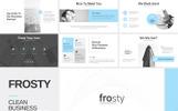 "Modello PowerPoint #80969 ""Frosty Clean"""