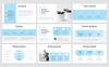 """Modello PowerPoint #80969 """"Frosty Clean"""" Screenshot grande"""