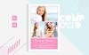 Gabrielle Marlowe Corporate Identity Template Big Screenshot