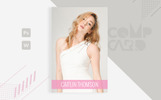 Caitlin Thomson - Modeling Corporate Identity Template