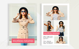 Matilda Morres - Model Comp Card Template Corporate Identity Template