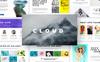 Cloud - Creative PowerPoint Template Big Screenshot