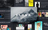 Cloud Creative & Corporate Presentation Keynote Template