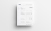 Simple Clean Minimal Invoice Corporate Identity Template Big Screenshot