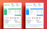 Commercial Google Docs Invoice Corporate Identity Template