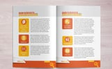 Brochure for SEO (Search Engine Optimization) Agency Corporate Identity Template