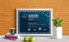 Plantilla de certificado para Sitio de Gráficos Captura de Pantalla Grande