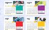 2019 Desk / Table Calendar / Planner Corporate Identity Template Big Screenshot