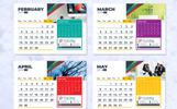 2019 Desk / Table Calendar / Planner Corporate Identity Template