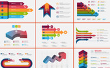 Infographic Bundle | 900+ Vector Elementos Infograficos №78923