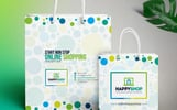 7 Shopping Bag Bundle Corporate Identity Template