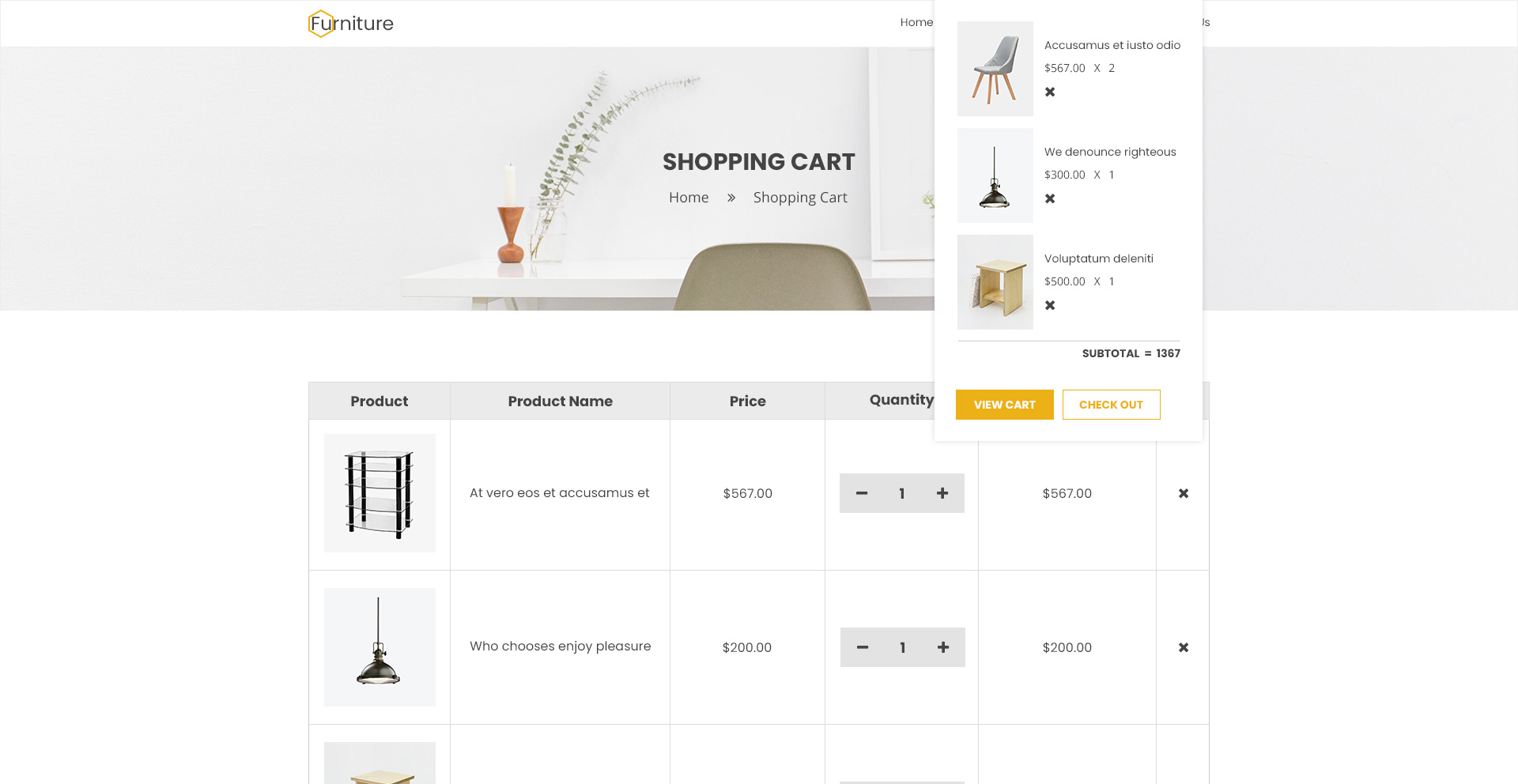 Navana Furniture - Interior Shopify Theme